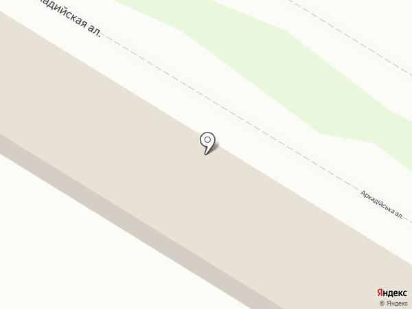 KIFA на карте Одессы
