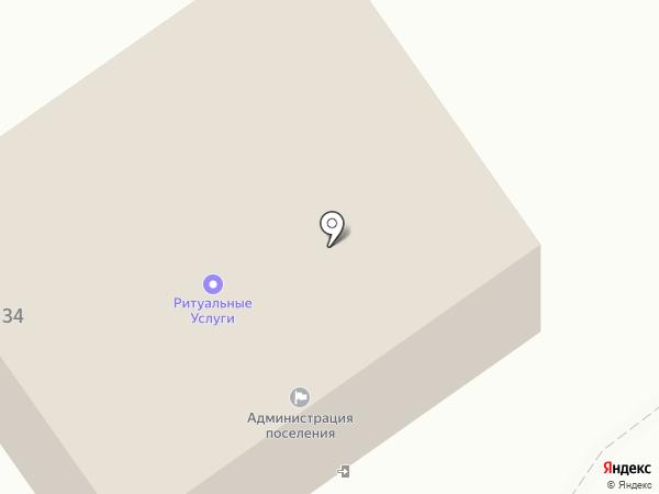 Администрация п.г.т. Ульяновка на карте Ульяновки