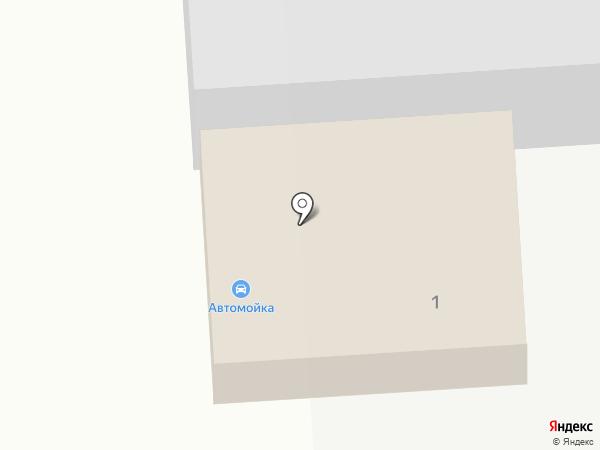 Автомойка на карте Никольского