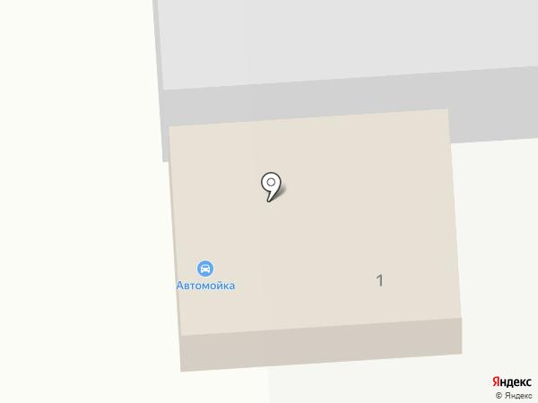Автомойка на Отрадненском шоссе (Тосненский район) на карте Никольского