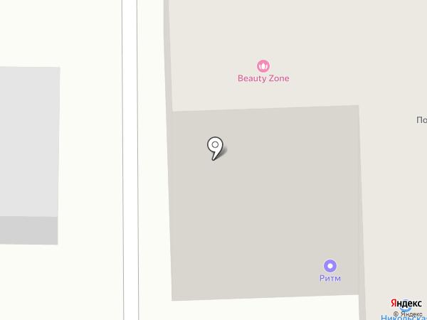 Ветеринарная лечебница на карте Никольского