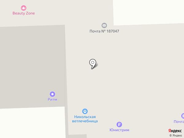 Николь на карте Никольского