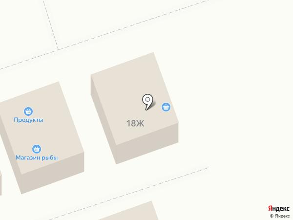 Продуктовый магазин на карте Отрадного