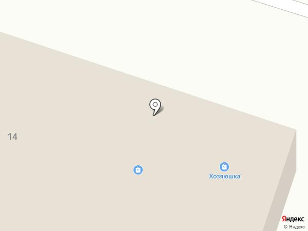 Магазин сантехники и стройхозтоваров на карте Отрадного