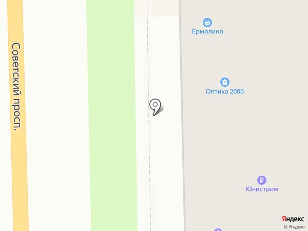 НКС на карте Никольского