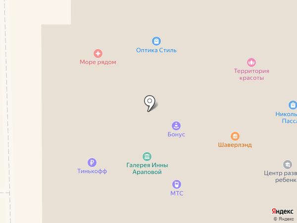 Окнофф на карте Никольского