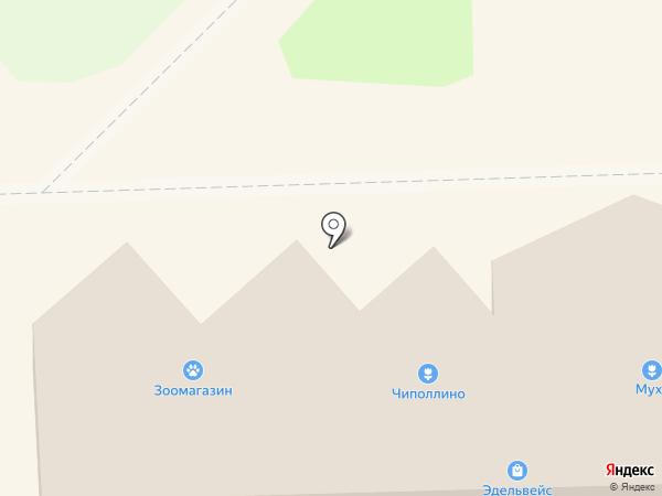 Магазин посуды на карте Никольского