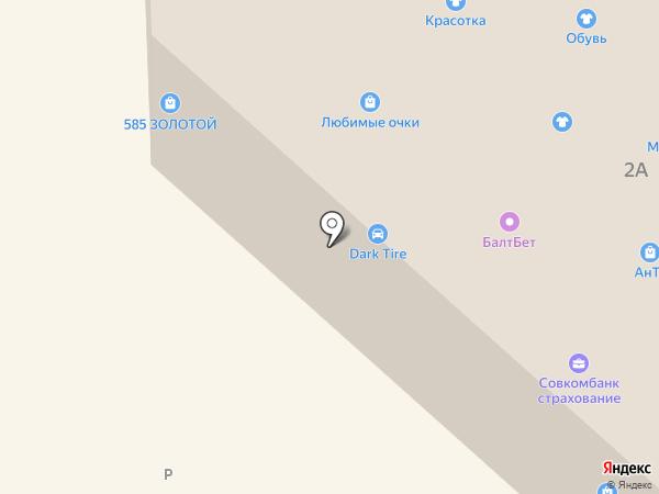 Чебоксарский трикотаж на карте Никольского