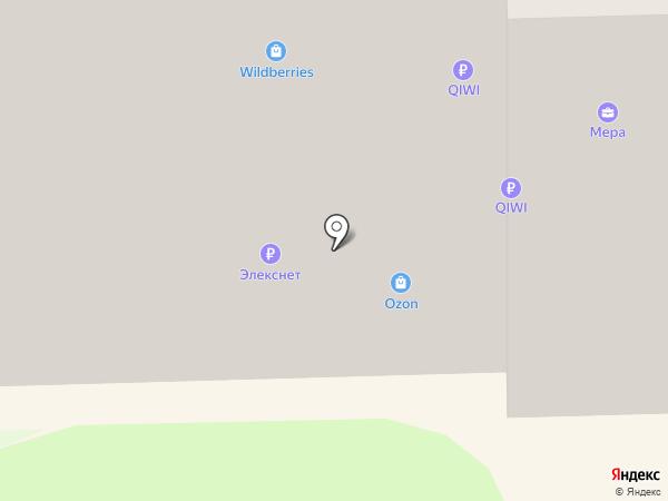 Магнолия на карте Никольского