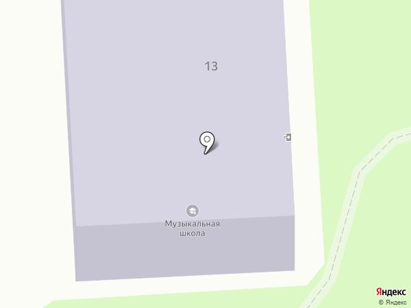 Никольская детская музыкальная школа на карте Никольского