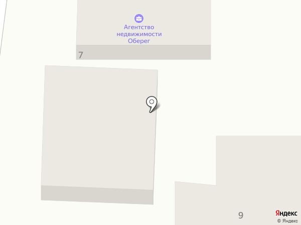Оберіг на карте Крыжановки