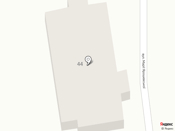 Аквариум на карте Крыжановки
