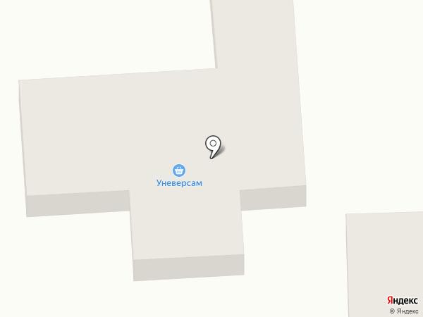 Универсам на карте Крыжановки