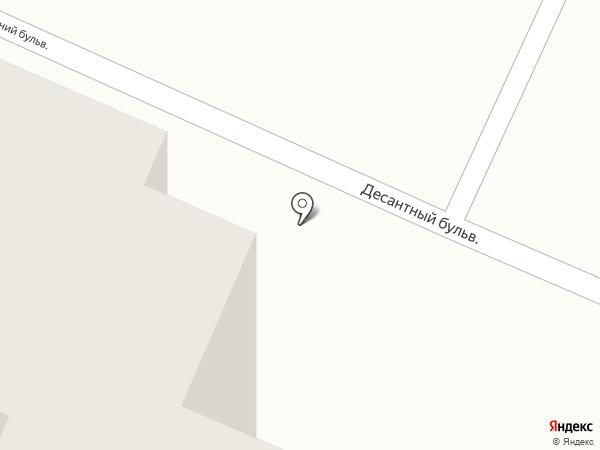 Шкатулка на карте Одессы