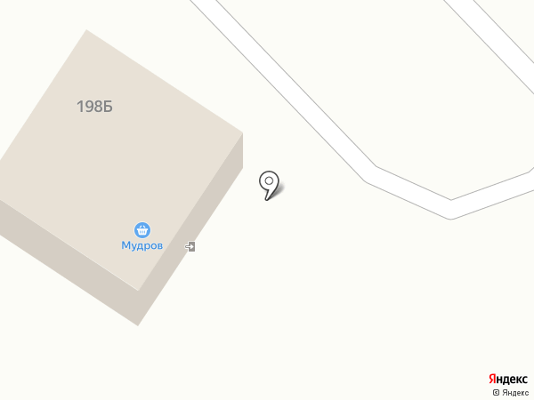 Мудров на карте Ульяновки