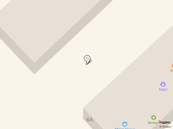 Сластена на карте Отрадного
