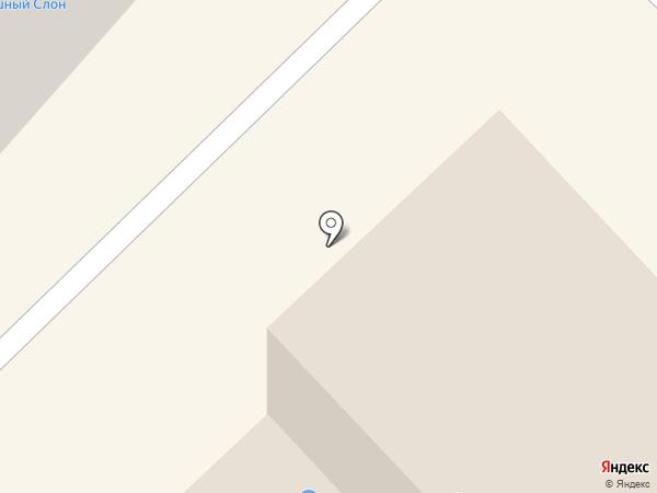 Магазин автозапчастей на карте Отрадного