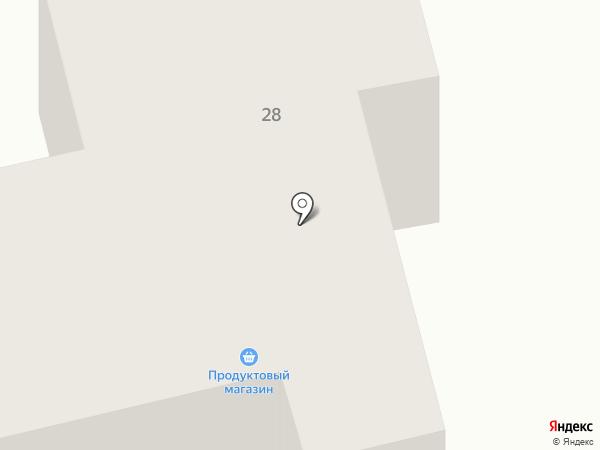 Продуктовый магазин на карте Фонтанки