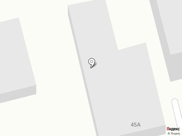 Южная ночь на карте Фонтанки