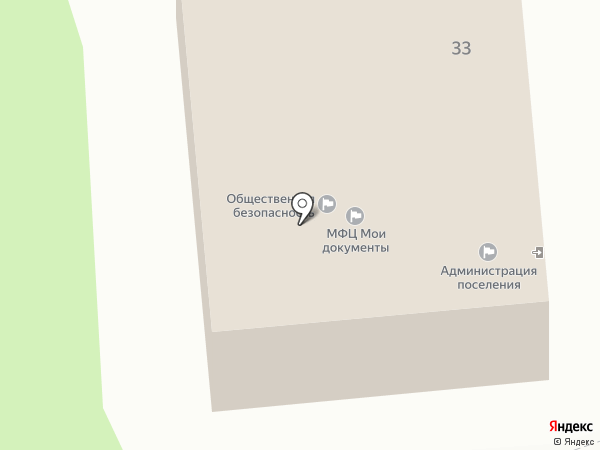 Администрация городского поселения Дубровка на карте Дубровки