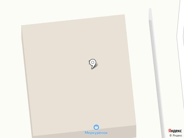 Продовольственный магазин на Невской (Всеволожский район) на карте Дубровки