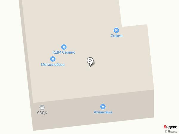 София на карте Кировска