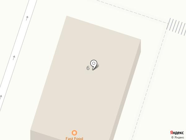 Восточный уголок на карте Кировска