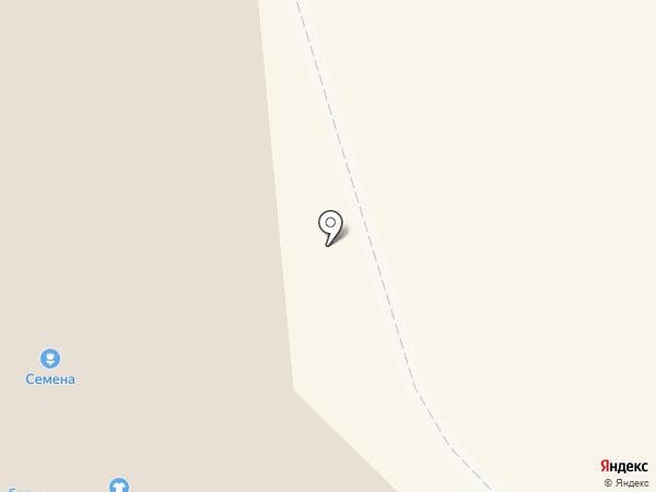 Магазин постельных принадлежностей на карте Кировска