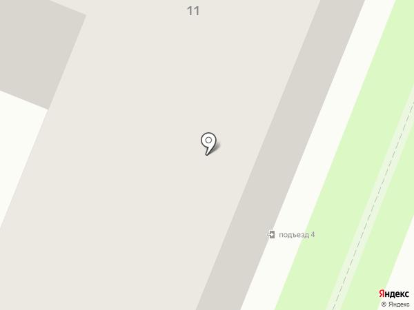 Невис на карте Кировска