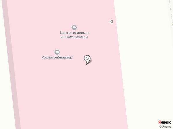 Центр гигиены и эпидемиологии в Ленинградской области на карте Кировска