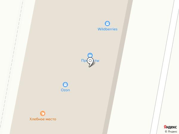 Магазин товаров для шитья на Краснофлотской (Кировский район) на карте Кировска