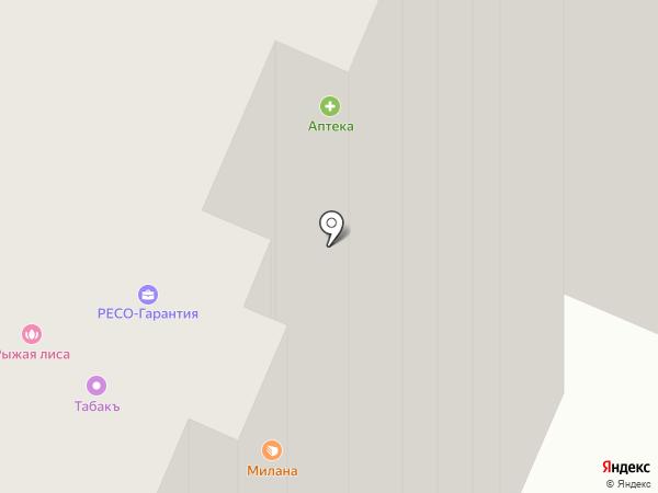 Окна в Дом на карте Кировска