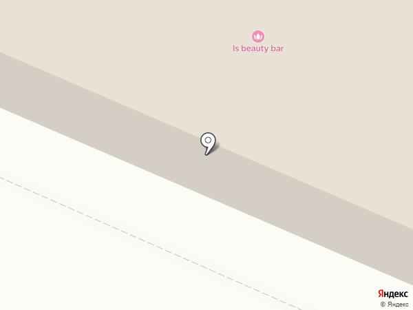 Гараж на карте Кировска
