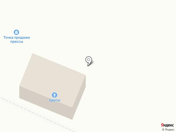 Магазин цветов на бульваре Партизанской Славы на карте Кировска