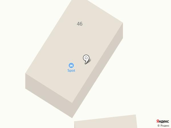 Сеть автомоечных комплексов на карте Кировска