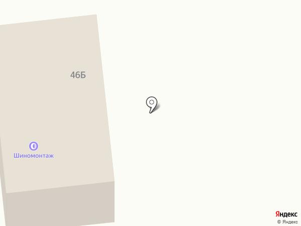 Шиномонтажная мастерская на карте Кировска