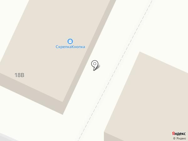 Скрепка & Кнопка на карте Кировска