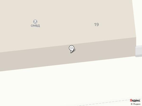 Участковый пункт полиции №1 на карте Кировска