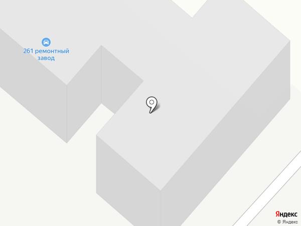 261 ремонтный завод средств заправки и транспортирования горючего на карте Панковки
