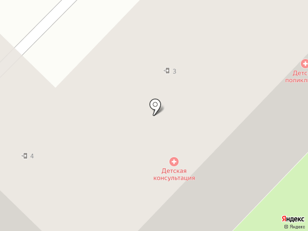 Детская поликлиника на карте Панковки