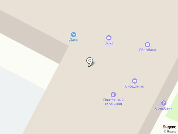 Кредо на карте Панковки