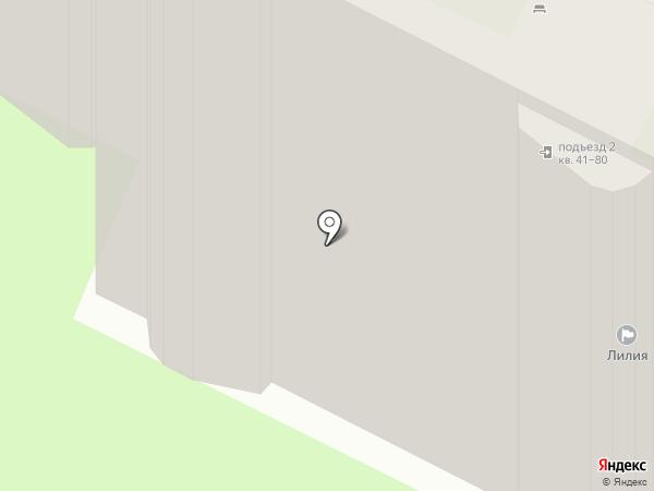 Лилия, ТСЖ на карте Великого Новгорода