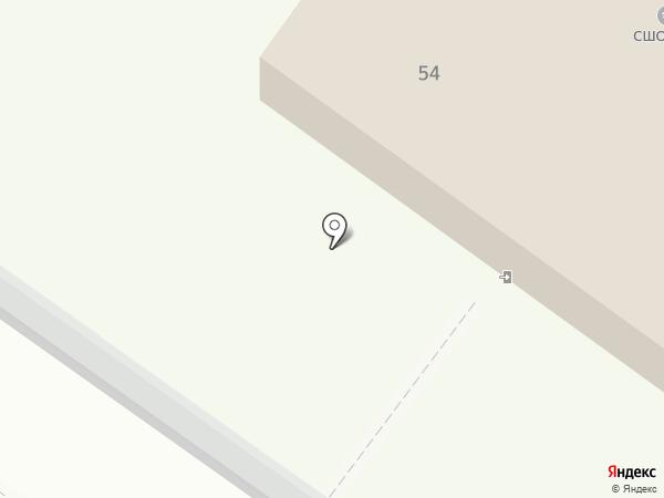 СДЮСШОР №1 на карте Великого Новгорода