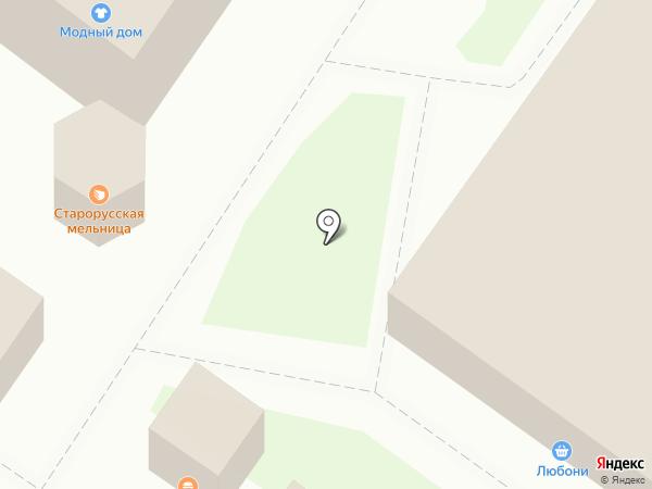 Швейная мастерская на карте Великого Новгорода