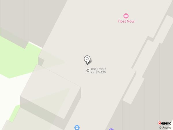 Совёнок на карте Великого Новгорода