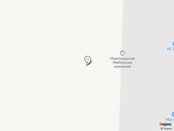 НМК на карте Великого Новгорода