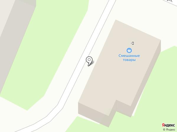 Продовольственный магазин на карте Великого Новгорода