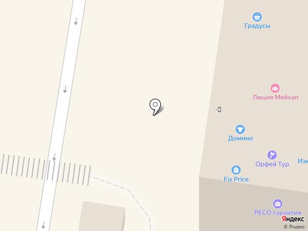 Домино на карте Великого Новгорода
