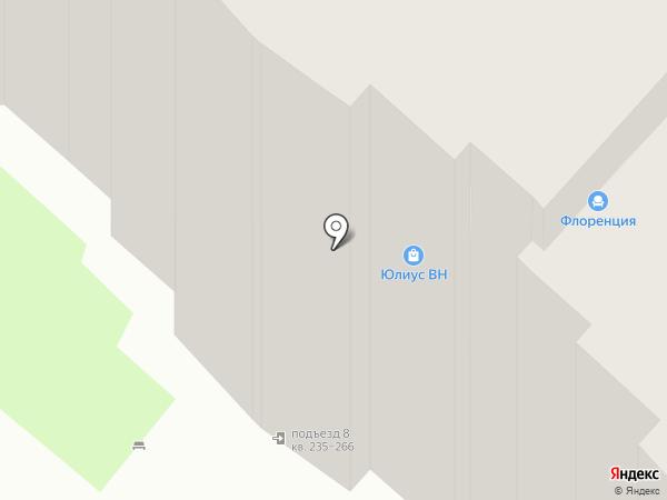 Флоренция на карте Великого Новгорода