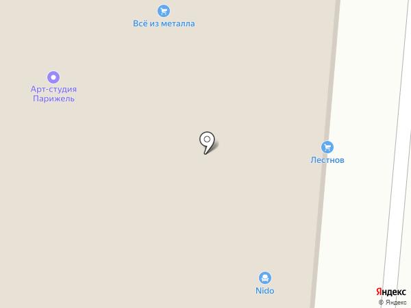 Магазин авточехлов на карте Великого Новгорода